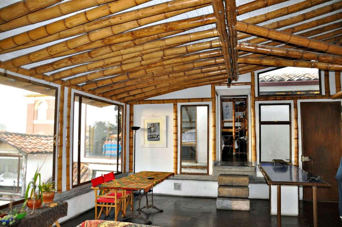 Interior of Simon Velez's home. Credit: Meg Pier