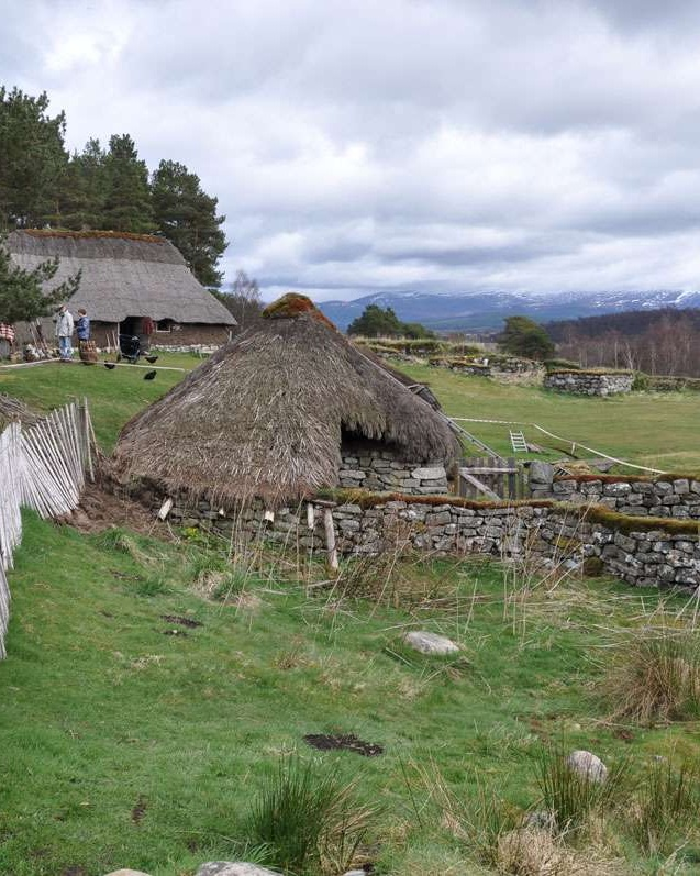 Highland Folk Museum grounds