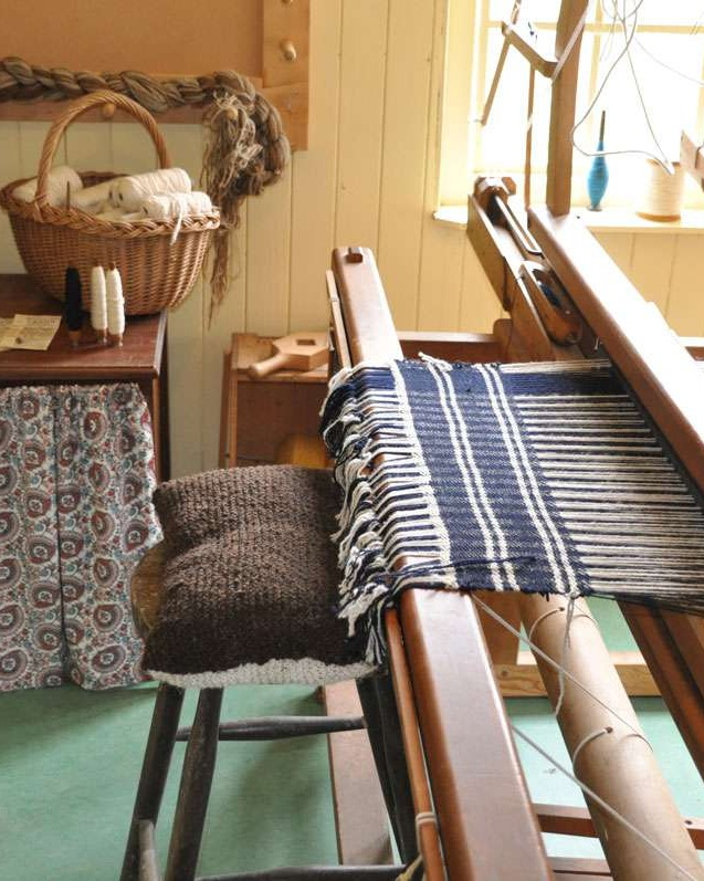 loom at Highland Folk Museum