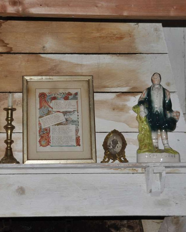 Momentos on the mantel, Highland Folk Museum