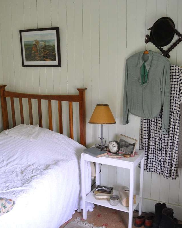 Typical bedroom, Highland Folk Museum