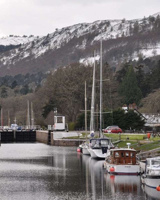 Caledonian Canal outside Inverness