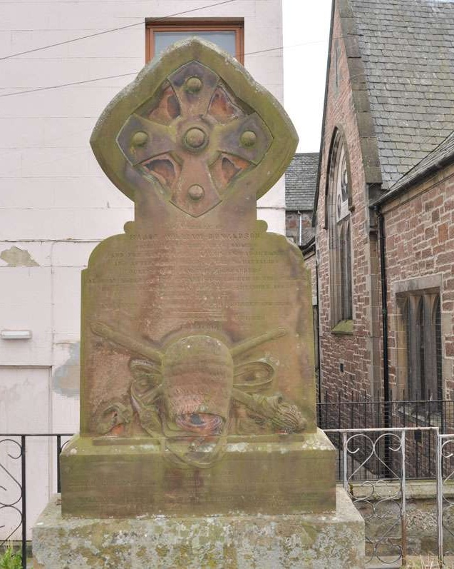Gravestone at Old High Church in Inverness