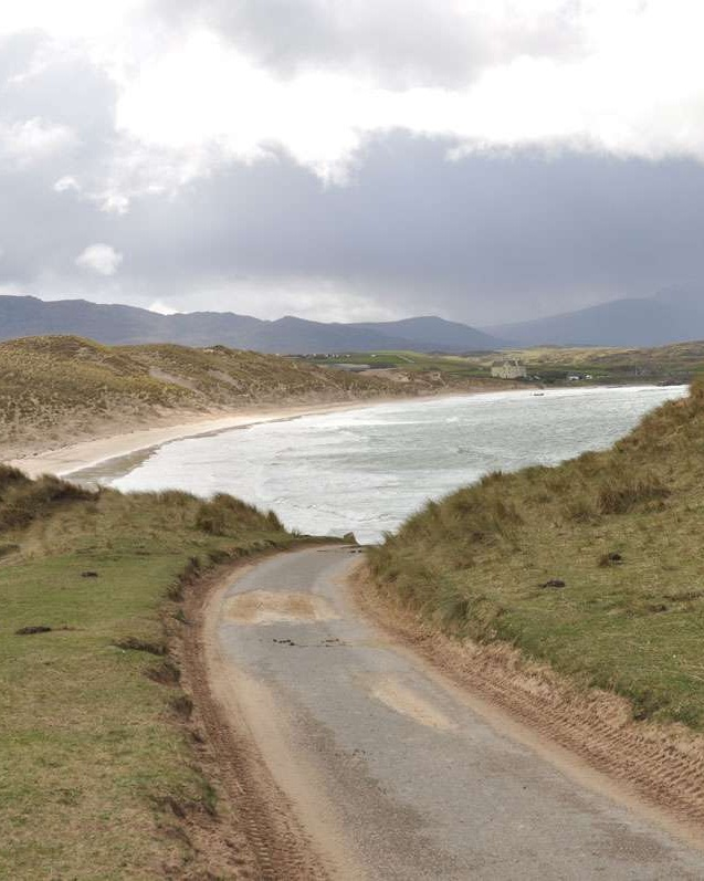 Road to Balnakeil Bay, Scotland