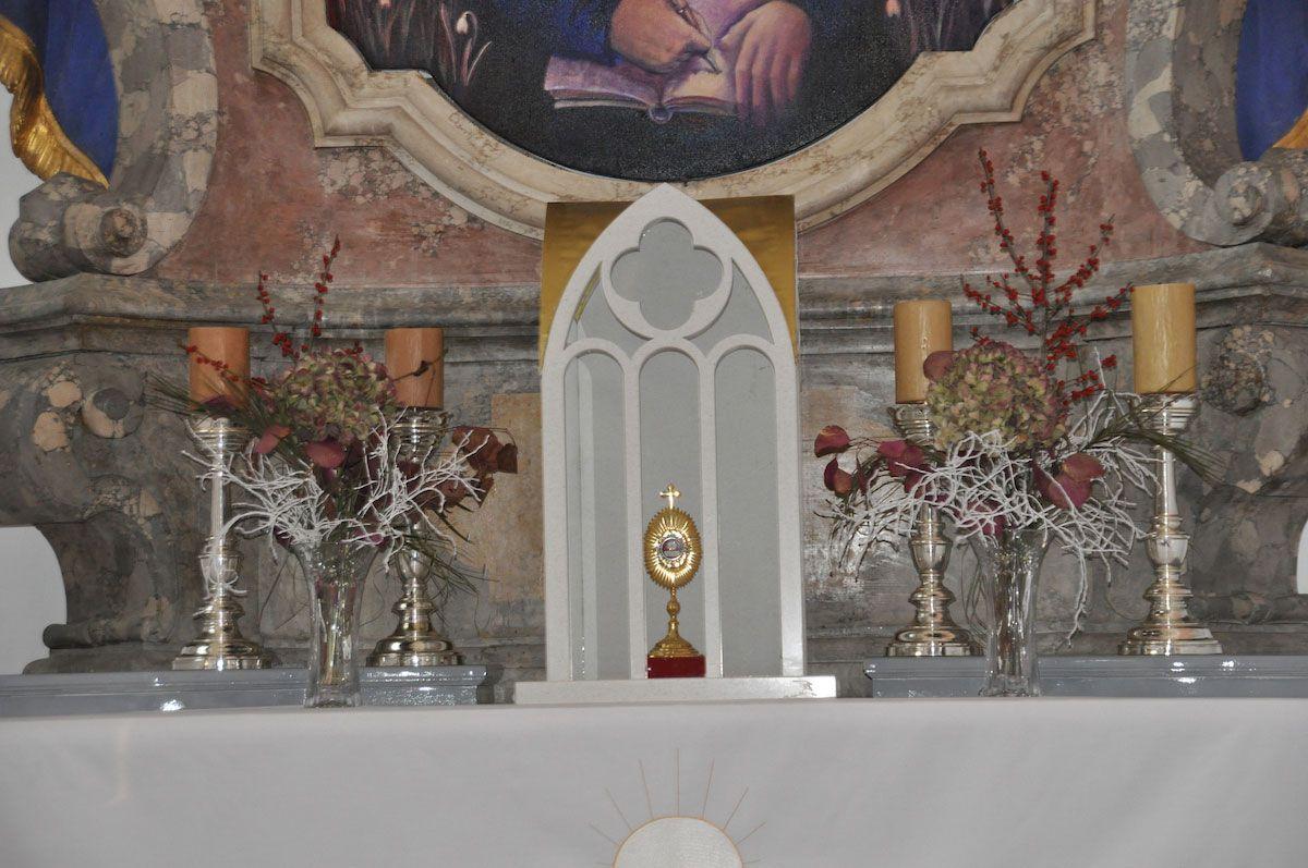 The alter at Sticna Monastery. Photo: Meg Pier