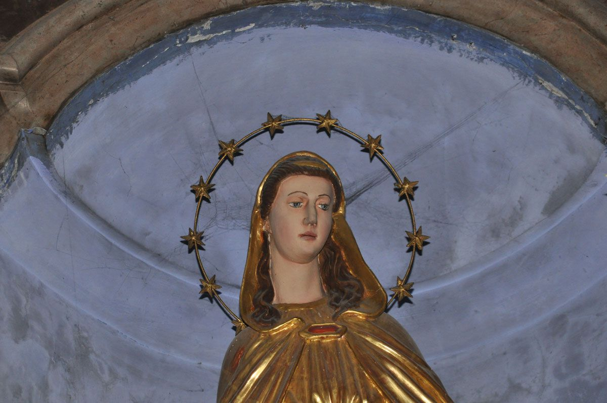 St. Mary is frequently invoked in prayer. Photo: Meg Pier