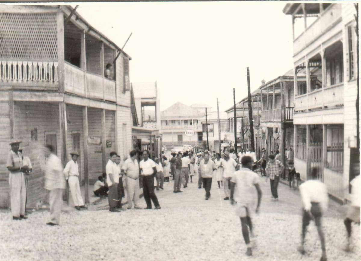 San Ignacio in 1960s. Photo: Chaa Creek