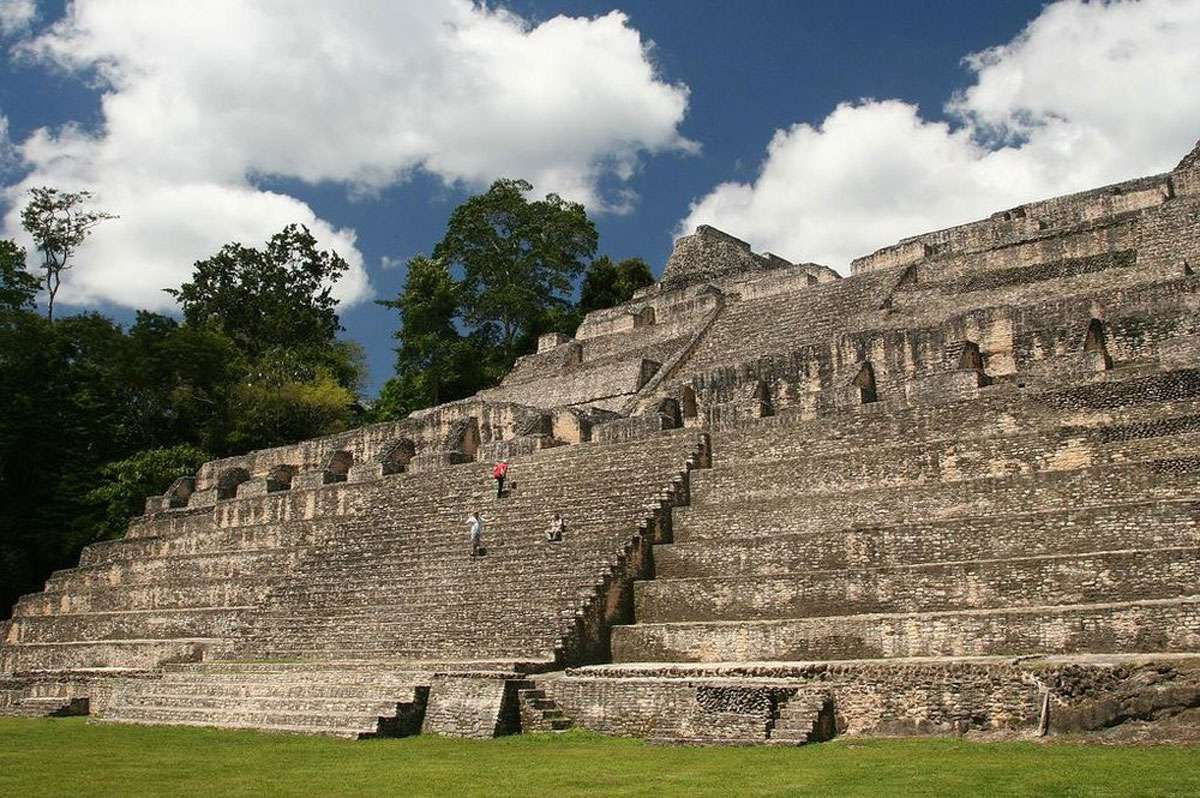 Caracol is the largest Maya site in Belize covering about 75 square miles. Photo: Chaa Creek