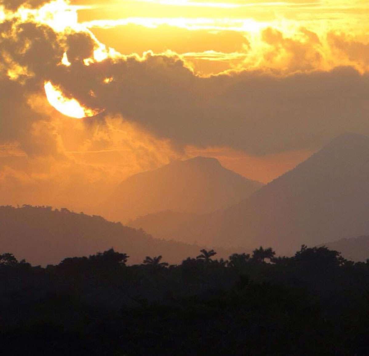 A Belizean sunset. Photo: Chaa Creek Lodge