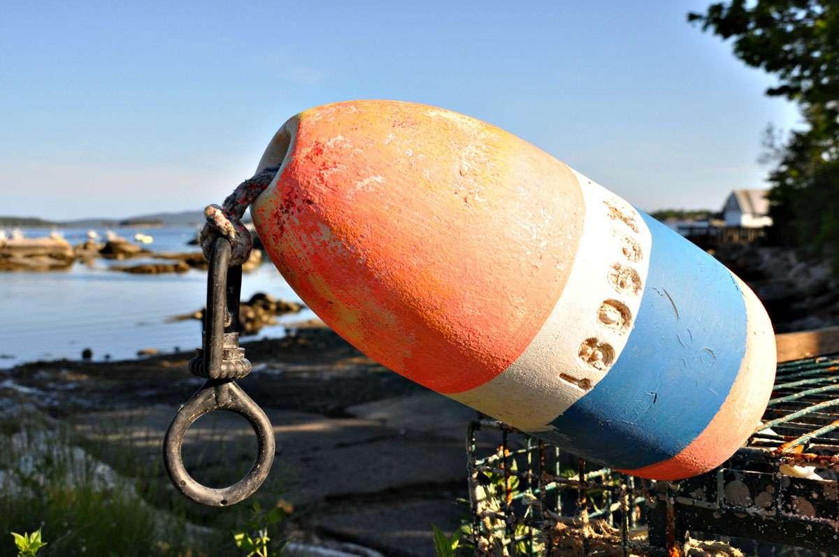 Visions of seaside life along the Deer Isle harbor. Photos: Meg Pier