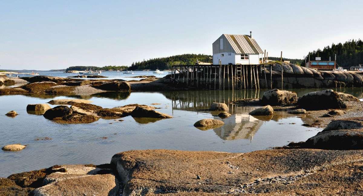 Serene still waters can change fast in temperamental New England weather. Photo: Meg Pier