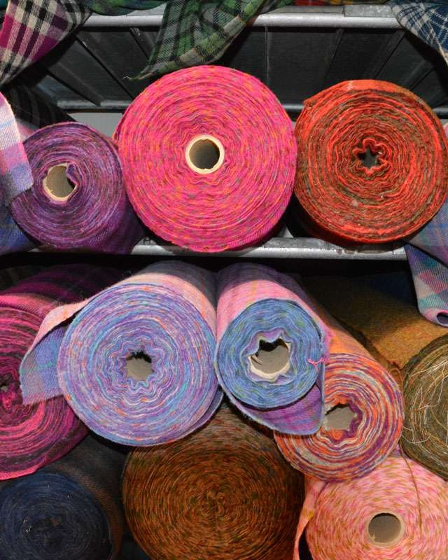 Colors of Harris Tweed