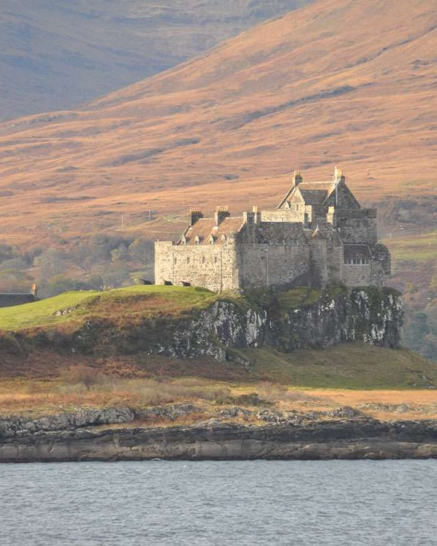 Duart Castle on Isle of Mull