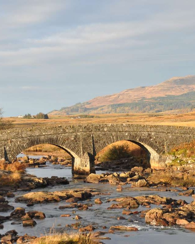 lovely bridge on Isle of Mull