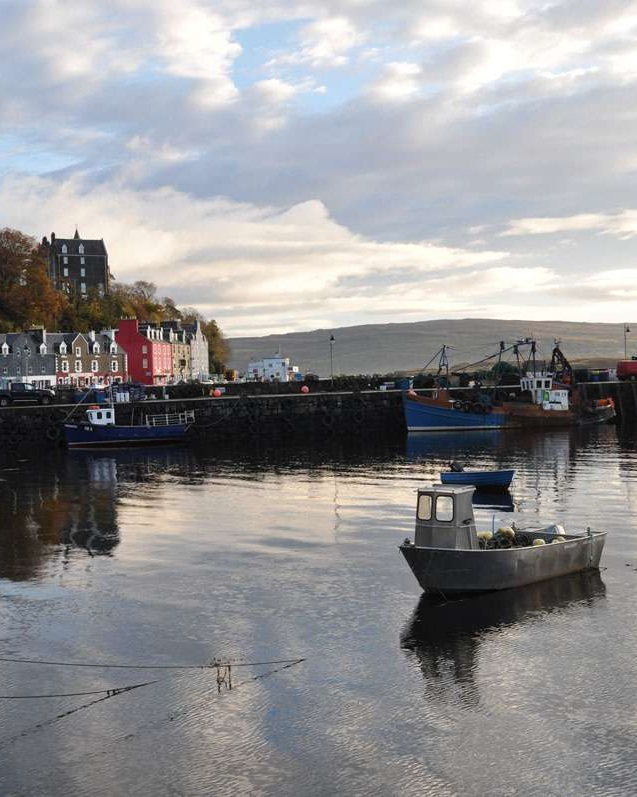 Tobermory Harbor, Isle of Mull