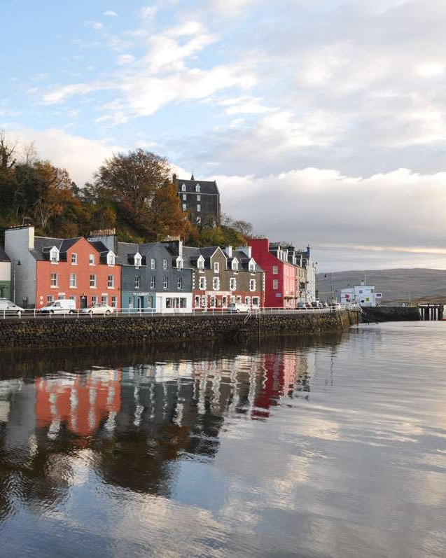 Tobermory Harbor Reflections