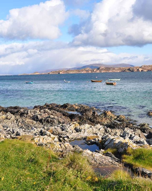 View of Mull from Iona