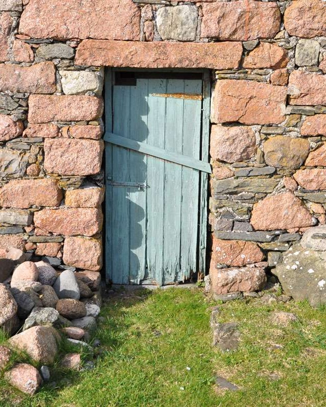 Humble doorway on Iona
