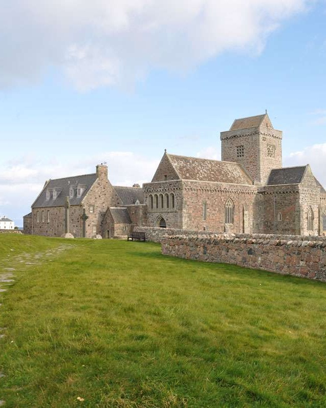 View of Iona Abbey