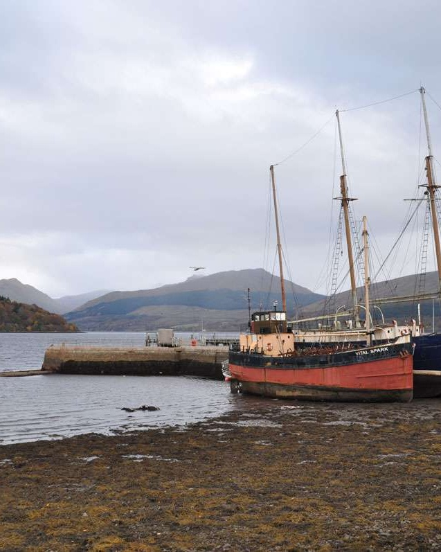 Low tide on Loch Fyne