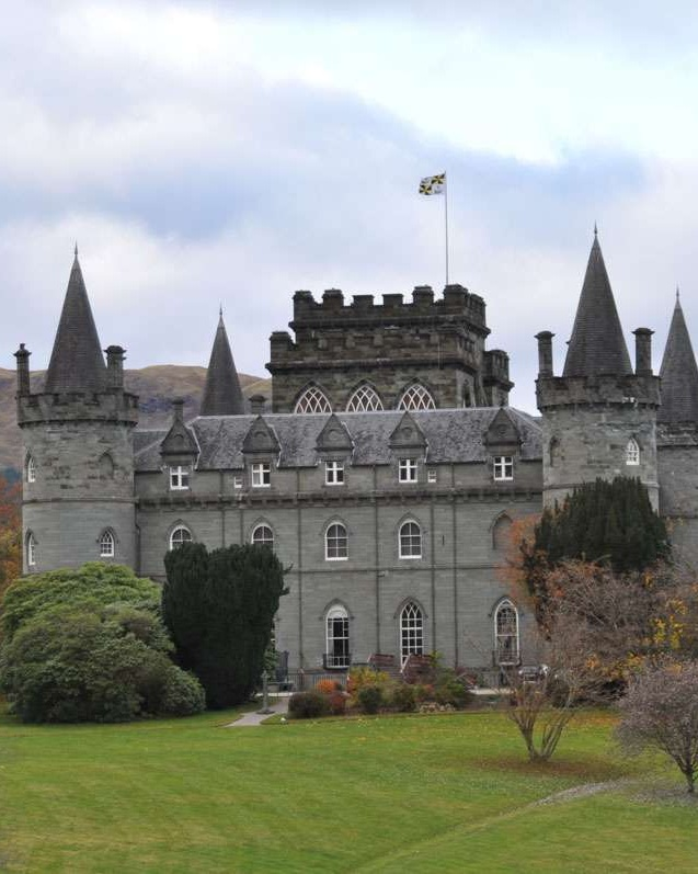 View of Inverary Castle