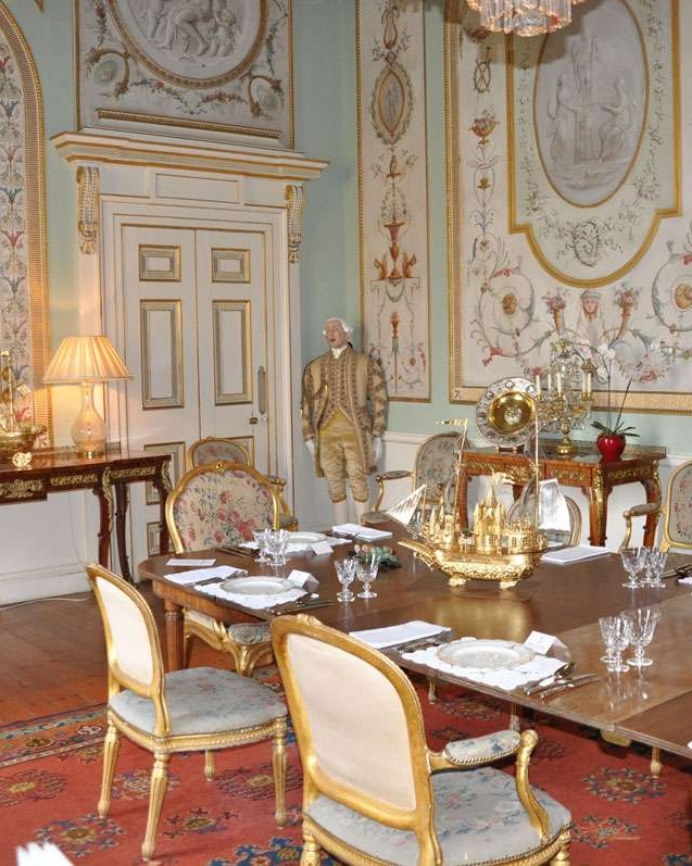 Inverary Castle State Dining Room