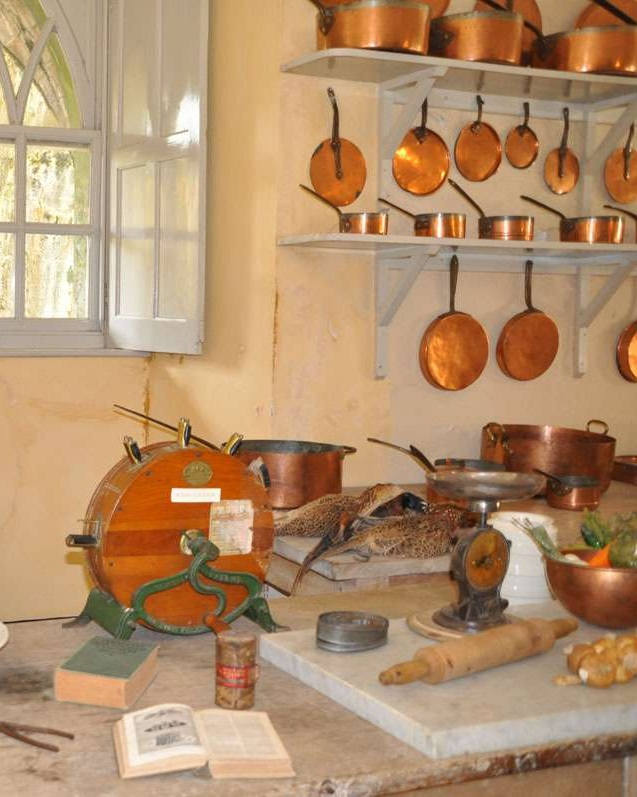 Inverary Castle kitchen