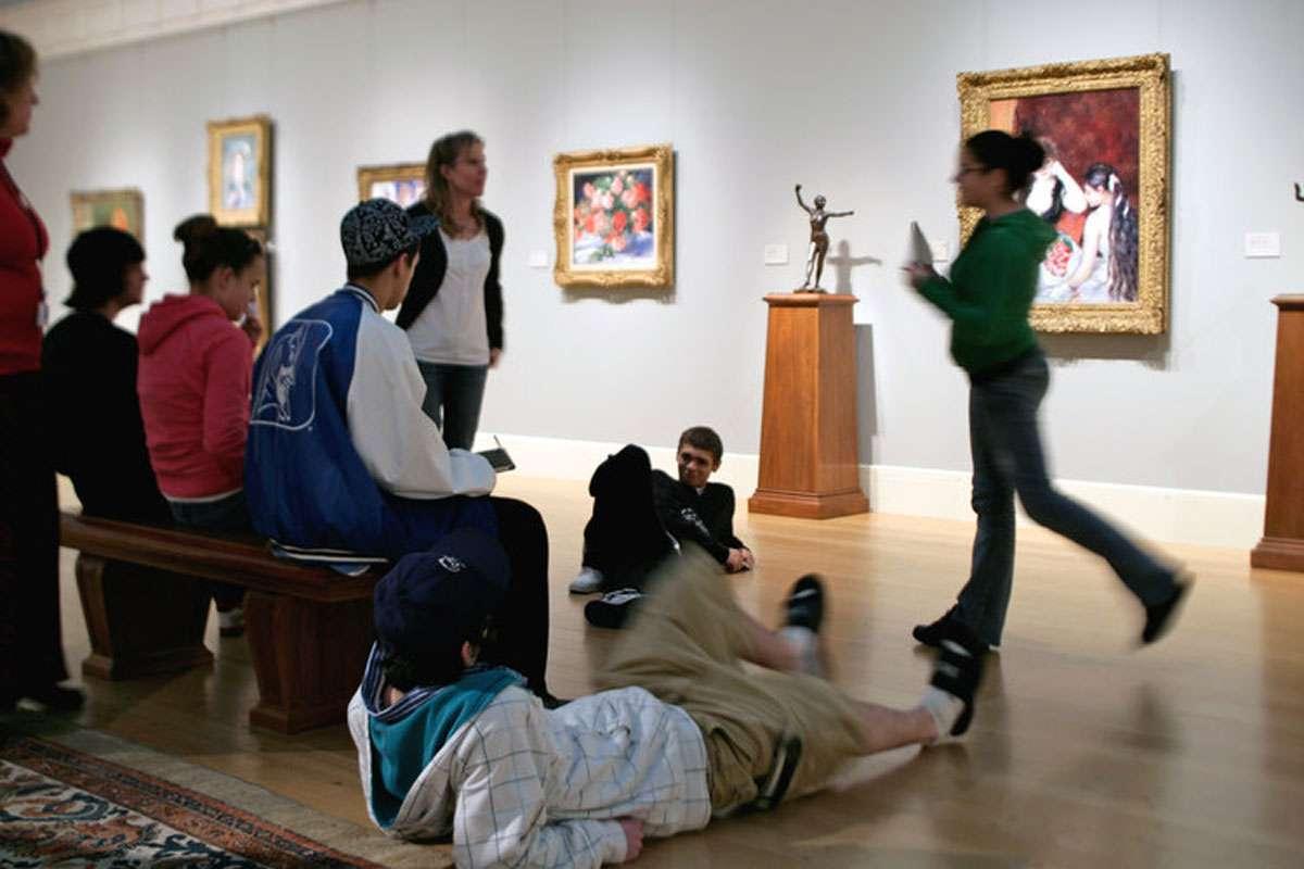 RAISE Students at Clark art institute.jpg