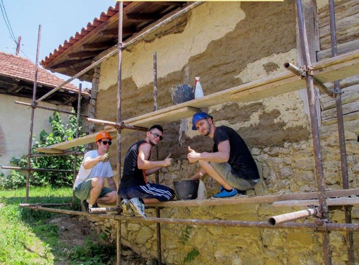 Restoration Camp Albania. Photo: CHwB