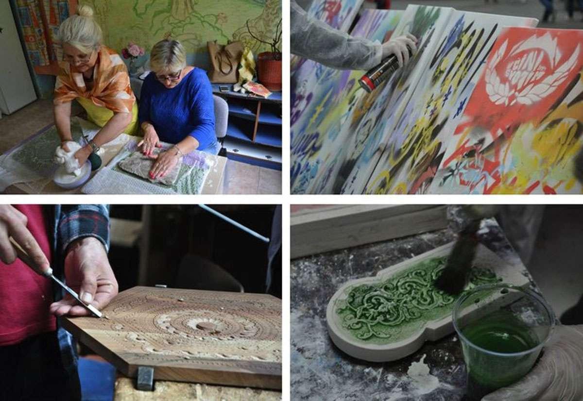 CHwB Albania's Crafting Access program is bringing back traditional skills. Photos: CHwB