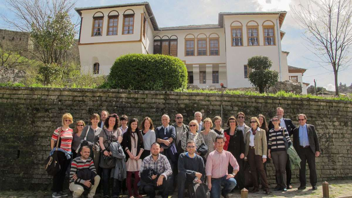 CHwB staff from the offices in Albania, Bosnia and Herzegovina, Kosovo convene in 2013. Photo: CHwB