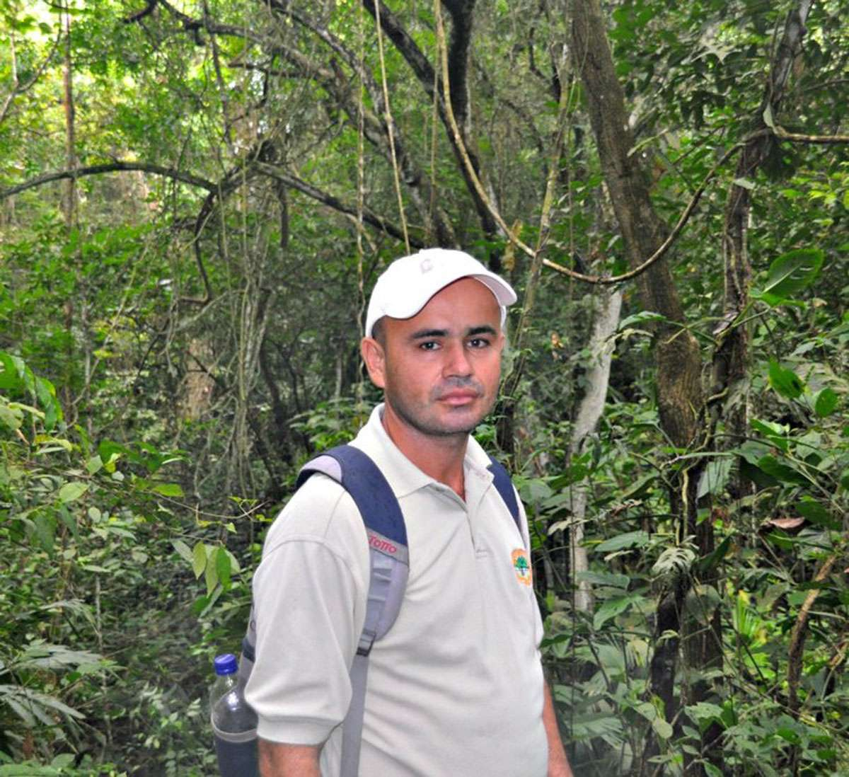 Harold - our guide at Tayrona National Park. Photo: Meg Pier