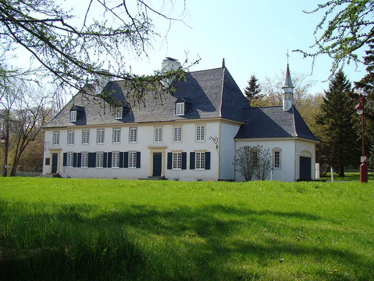 Mauvide Genest Manor on the Ile de orleans