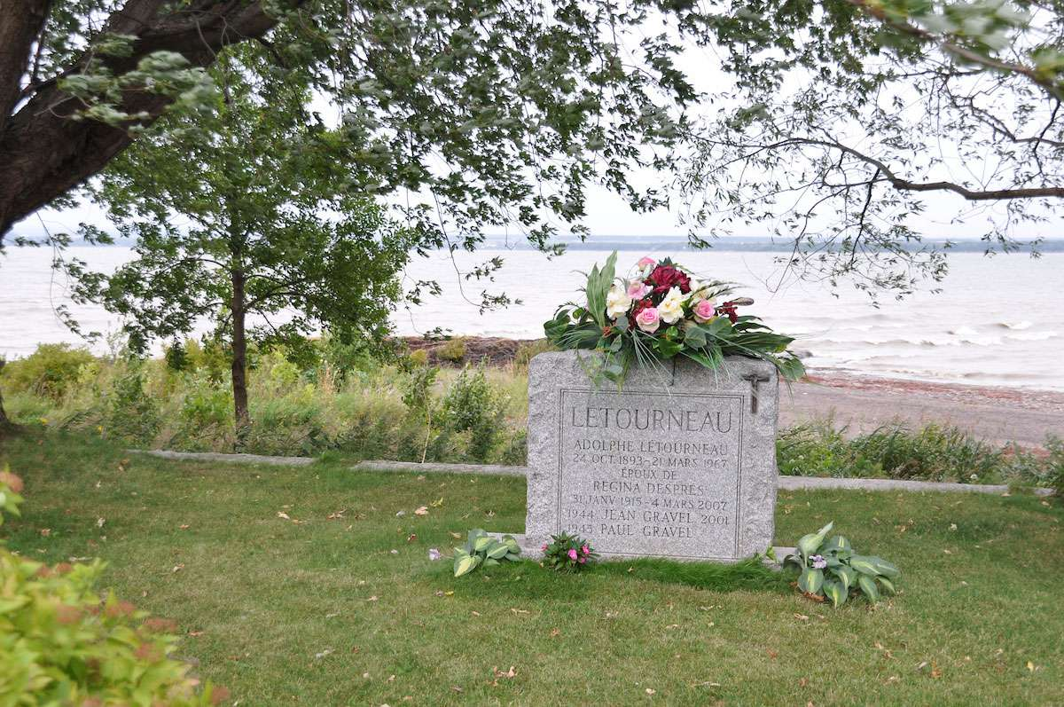 The cemetery in the parish of Saint-Jean makes for a peaceful resting place for generations. Photo: Meg Pier