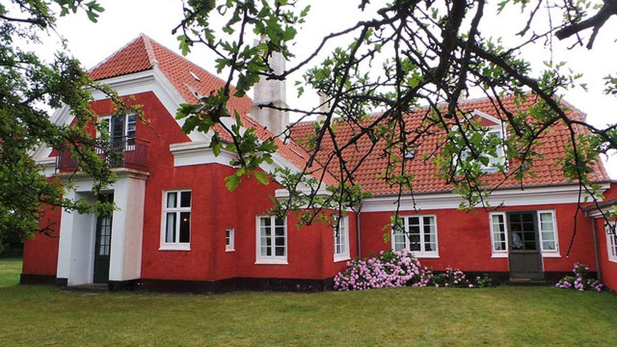 Exterior of the Ancher House. Photo: Ignacio Gallego Creative Commons