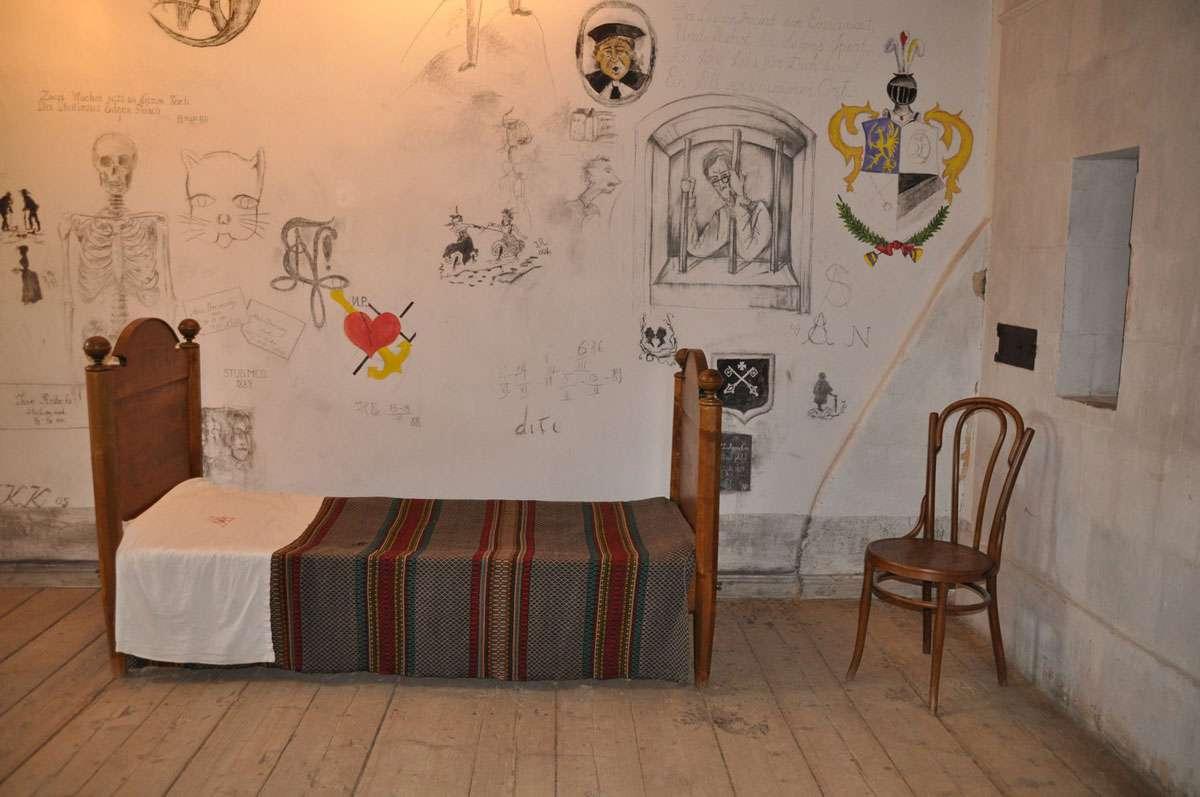 University Of Tartu 19th Century 'Lock-Up' Cell. Photo: Meg Pier
