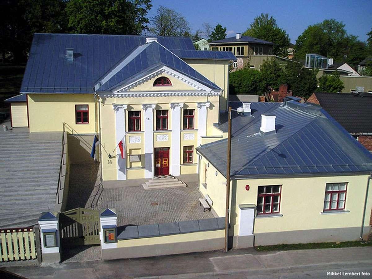 Exterior of Estonian Song Festival Museum in Tartu. Photo: Mihkel Lemberi
