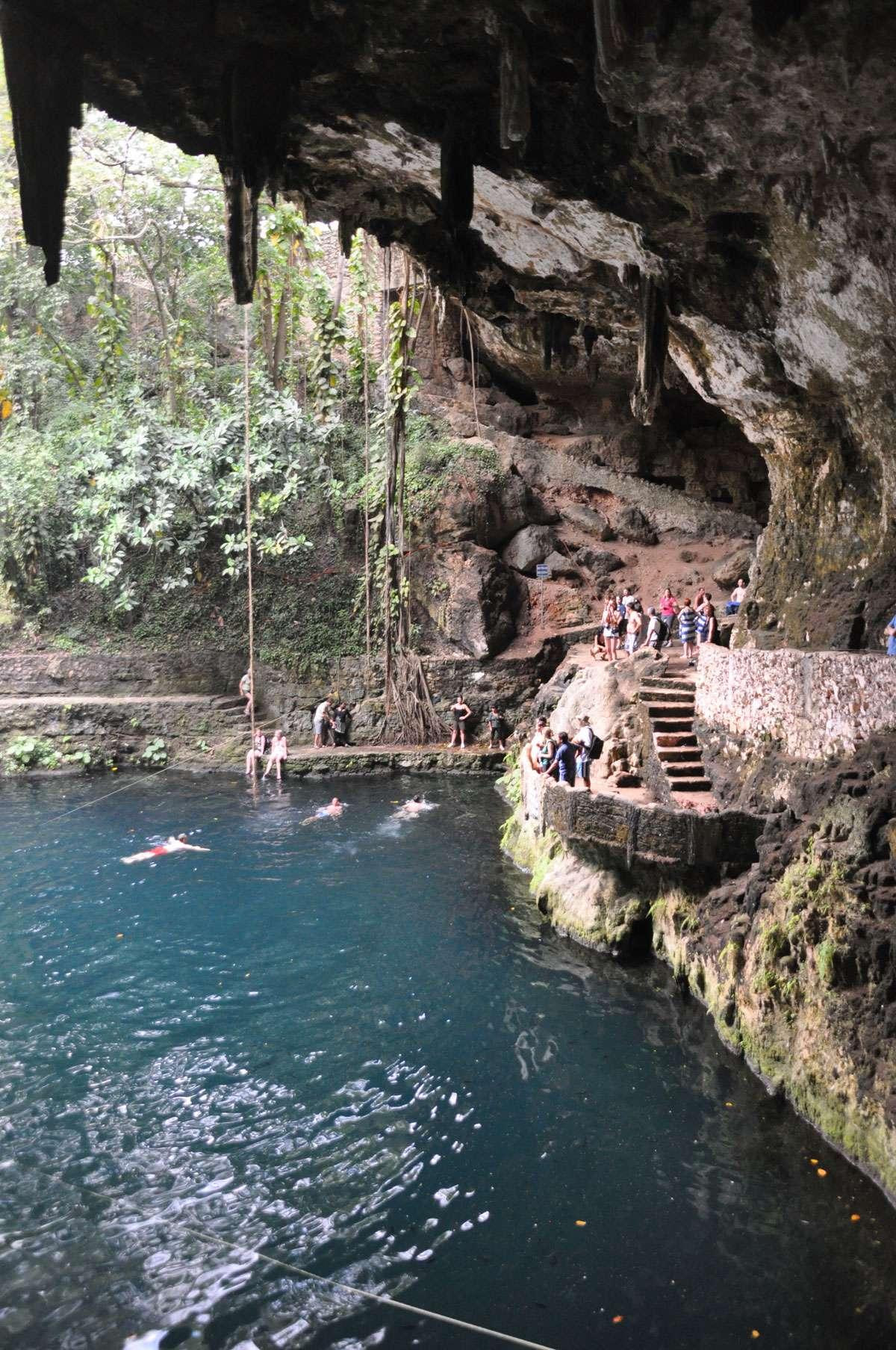 Views of Cenote Ik Kil