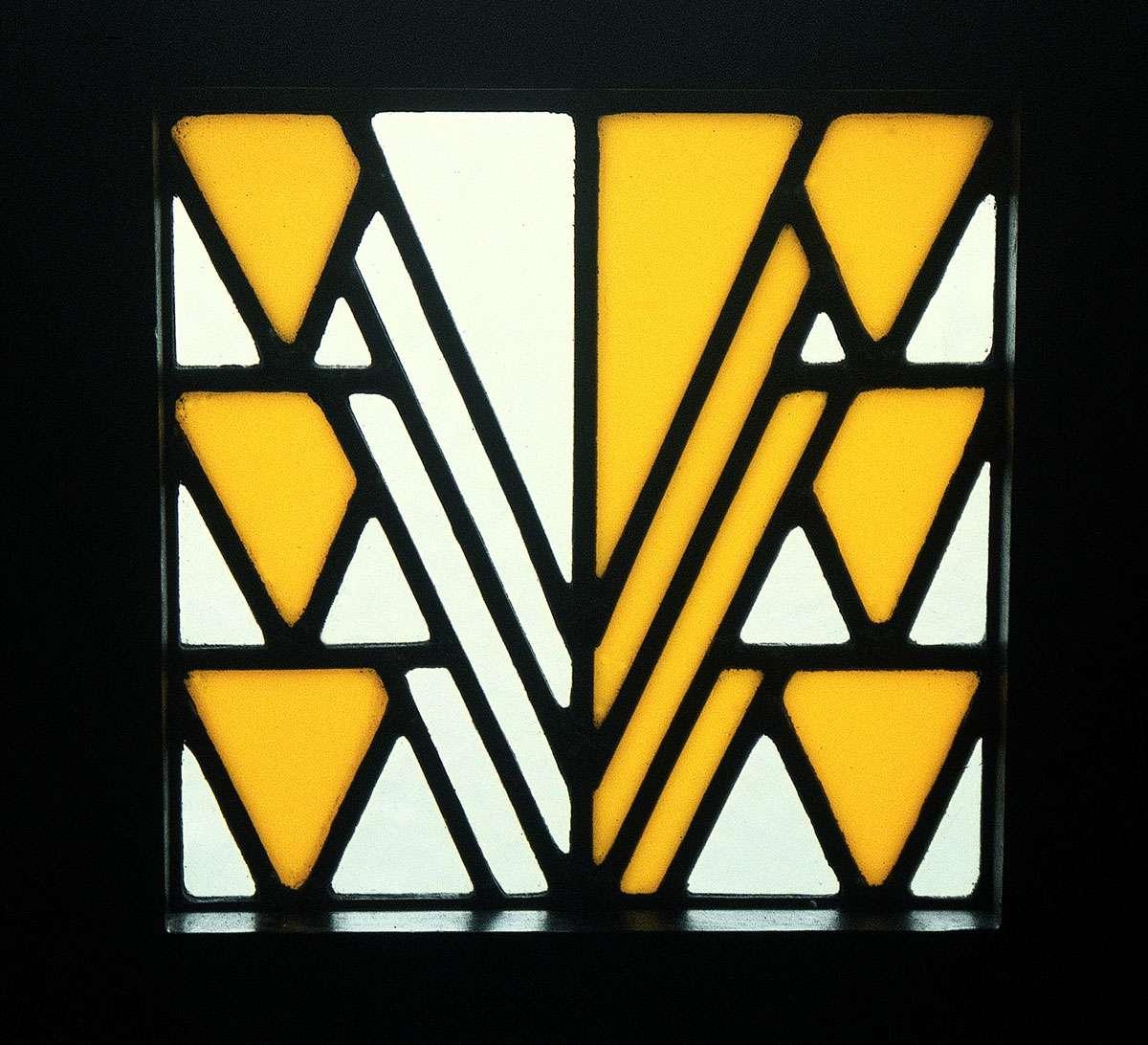 Leaded glass, 78 Derngate, Northampton. Photo: 78 Derngate