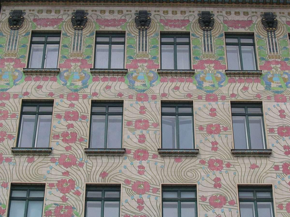 'Majolikahaus', Vienna, Austria