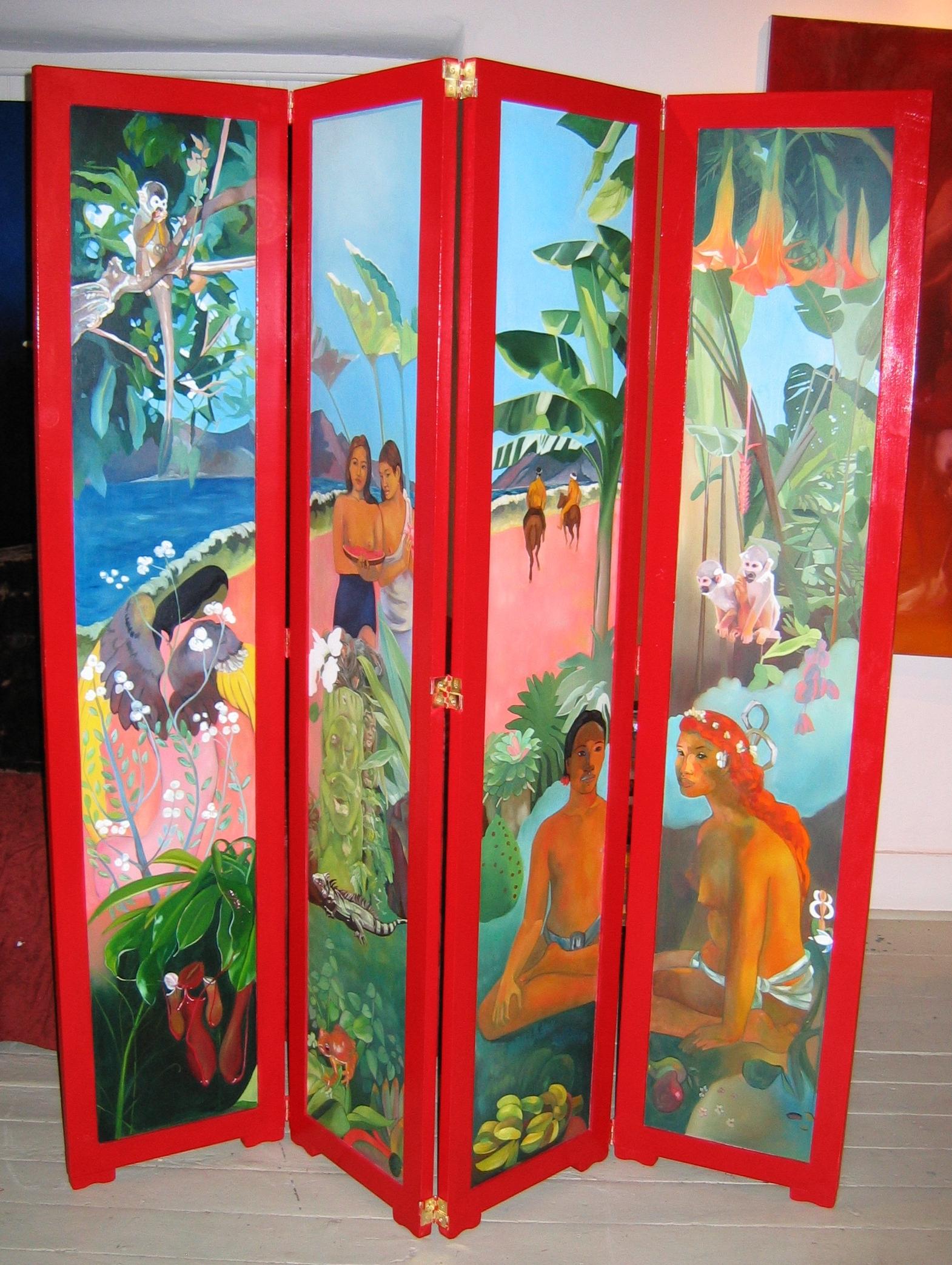Gauguin-esque screen