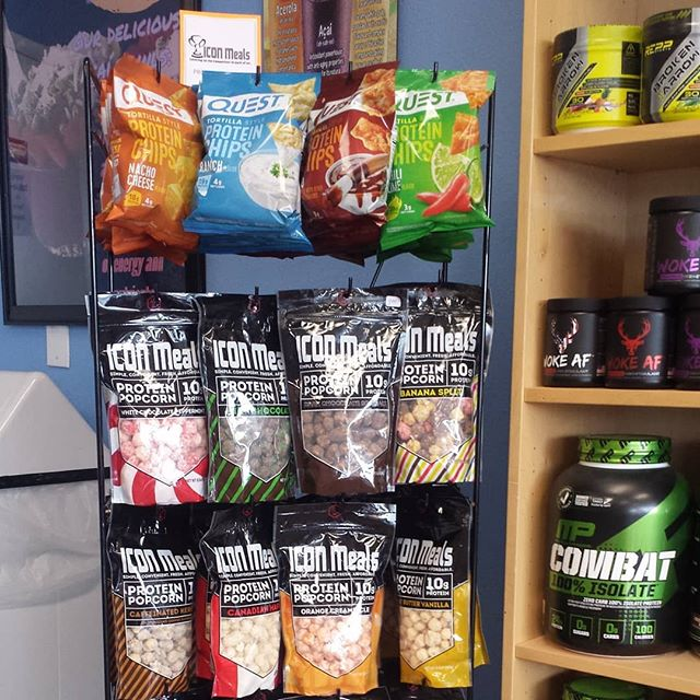 NEW Flavors Just Arrived. Each bag of popcorn contains 40g of protein!
