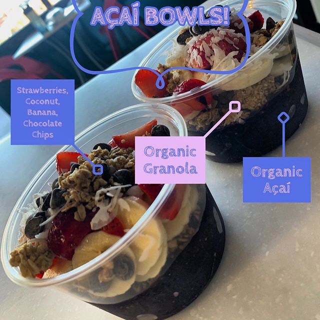 Kick off 2019 with our fresh organic Açaí Bowls! 🎉🎊🎉 . . Stop by any of our locations to try this any of our smoothies and Açaí Bowls. 📍La Fitness Bee Ridge Cattlemen, FL 📍4834 14th St W Bradenton, FL . . #protein #madnutritionandsmoothies #fruitsmoothies #acai #nutrition #lafitness #sarasota #fitness #fitspo #isolate #gym #fruit #qualityingredients #proteinshakes #smoothies #fruitsmoothies #peanutbutter #raw #acai #acaibowl #superfood #smoothiebowl #bradenton #crunch #vegantreats #rawbar #vegan #proteinsmoothies #smoothiebowl #healthy #healthyliving