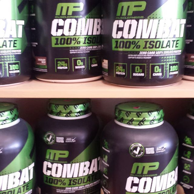 MP Combat 5 lb Isolate in Chocolate or Vanilla $10 off.