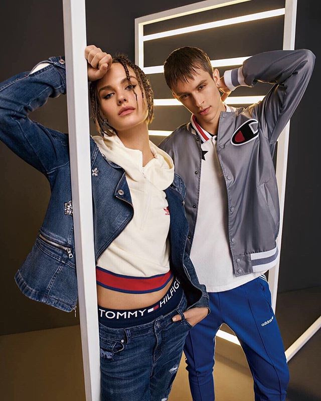 Our Tommy girl RASA🔥  #tommyhilfiger #editorial #models #scouting #faces #motheragency #modelagency