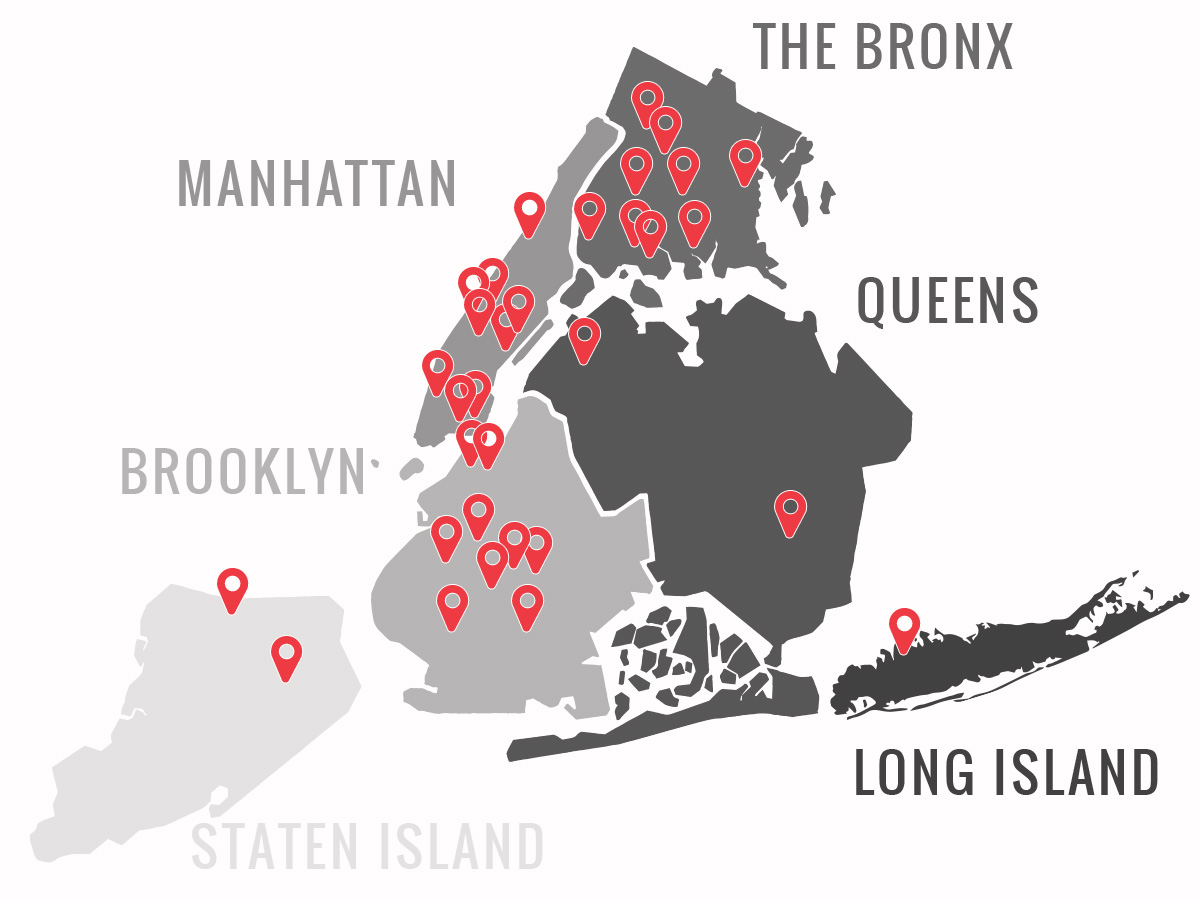 ETA's 32 New York Partner Schools