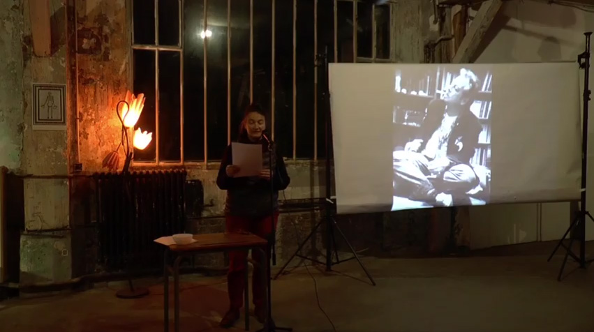 Homage to Stephen Rodefer at La Guillotine, Paris, December 5, 2015