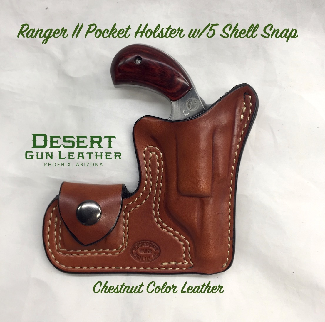 NAA Ranger II Pocket Holster with 5 Shell Pouch
