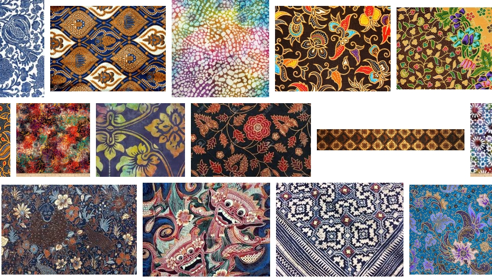 A quick Google image search shows a huge variety of batik fabrics of different regions and styles.