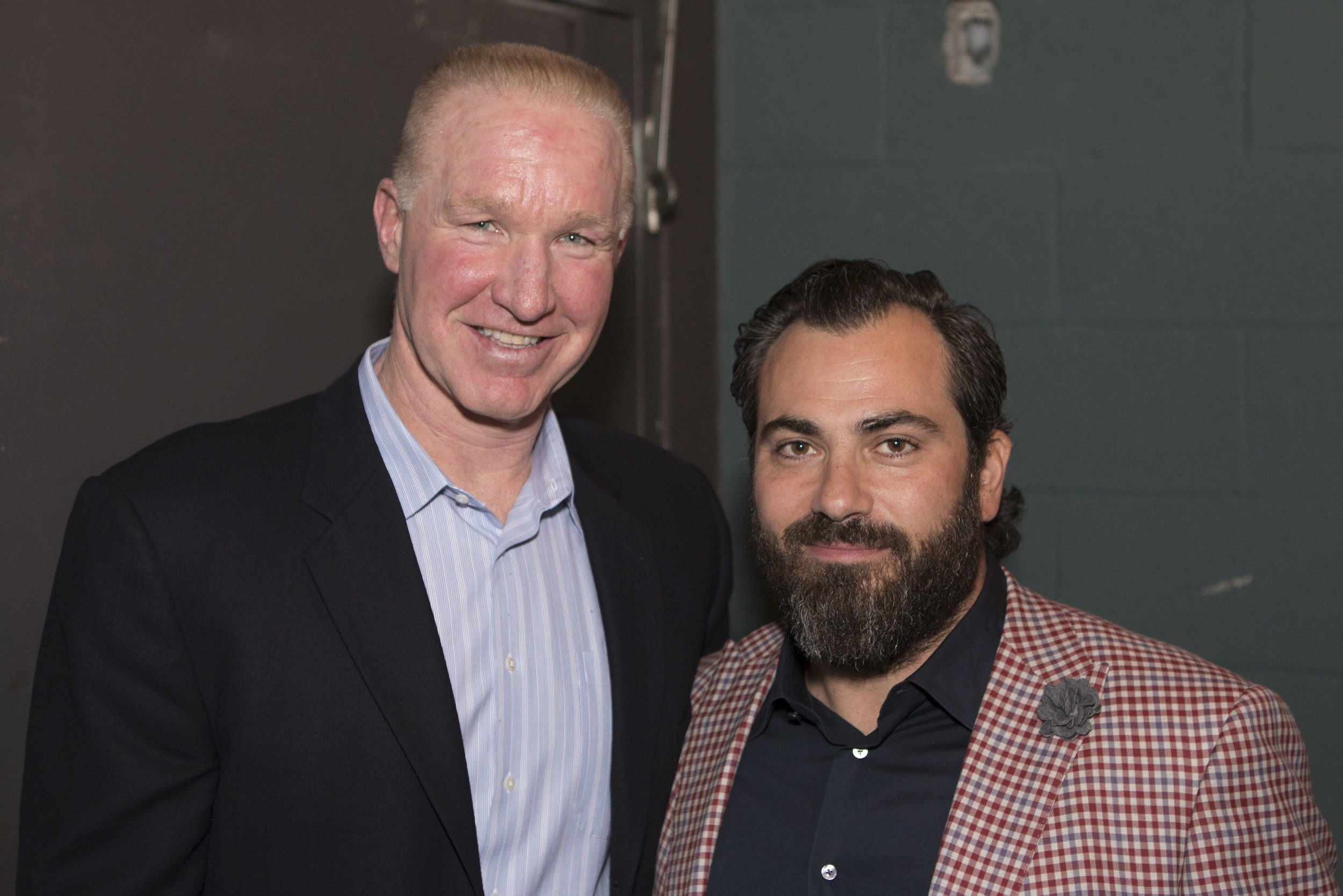 Novus Founder Anthony Zito with Chris Mullin